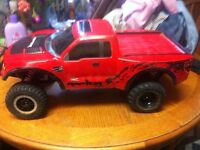 Traxxas ford raptor svt brushless