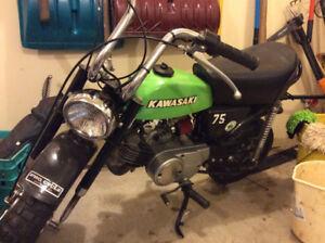 1975 Kawasaki KV75