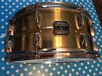 Gretsch brass snare