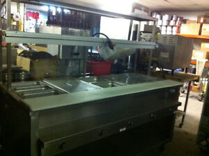 Used -- Steam Table  5 Well – Individual Control