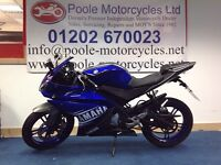 Yamaha YZF-R125 2013, with extras!!