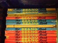 Collection of Beano annuals