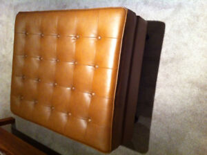 Leather Ottoman For Sale