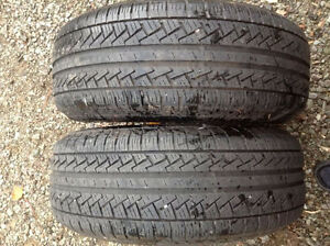 2 - Pirelli P6 Plus All Season Tires   215 55 16