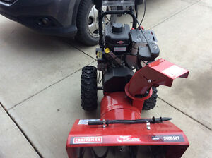 "Awesome 27"" Craftsman Snowblower GET IT BEFORE IT SNOWS! Edmonton Edmonton Area image 5"