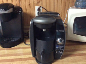 Tassamo and keurig coffee makers