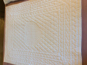 Whole Cloth Quilt - Hand Quilted