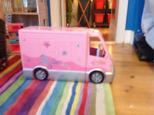 Barbie Hot Tub Party Bus Motor Home Camper RV 2006 Mattel A