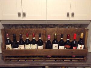 Rustic Wine Shelf Kitchener / Waterloo Kitchener Area image 2