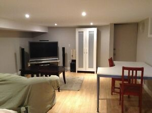 Bright, renovated, furnished studio apartment for rent