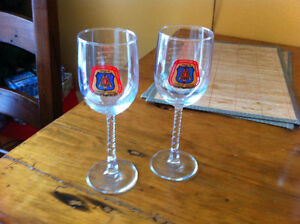 Hamilton-Niagara Carpenters Stemmed Glasses Cambridge Kitchener Area image 2