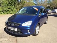 Ford Focus C-Max 2007, Zetec, Finance Available, 2 Owners , 3 Months Warranty, 12 Months MOT,