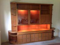 MCINTOSH solid wood display / bar / sideboard