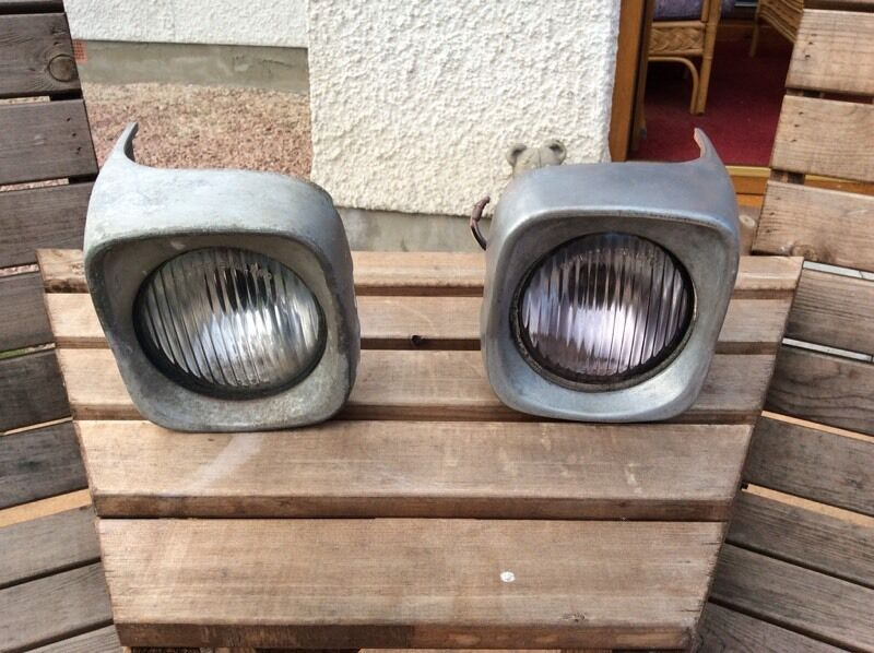 135 Massey Fender Light : Massey ferguson aluminium head lights in