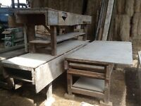 Old carpenters workbench (3 available, listed price per table)