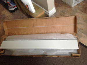 Hot water baseboard. New in box, never used.