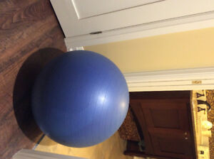 Exercise/ Mobility Ball -- great condition