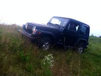 1997 Jeep TJ à vendre rapidement