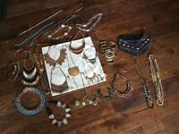 Jewellery bundle job lot Accessorize Topshop new look Zara mango necklace