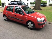 2004 54 Renault Clio 1.5 dci expression ltd edition 72,000 miles only diesel