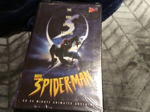 Sealed 1997 Spider-Man the sins of the fathers VHS