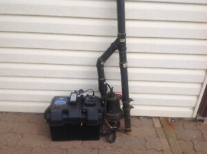 Sump Pump Back-up System
