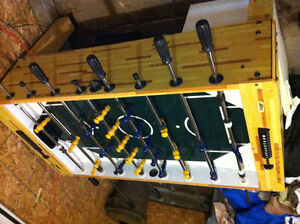 Foose ball table for sale.