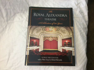The Royal Alexander Theatre Book - NEW - A Calendar of 100 Years