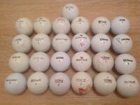 25 WILSON GOLF BALLS