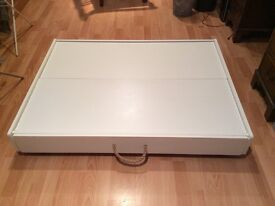 Great little trading company under bed wheeled truckle storage drawers and play table