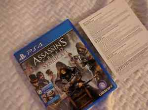 Assassins creed syndicate ps4 30$
