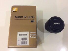 Nikon NIKKOR 24-85 vr lens