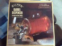 Kilner barrel drink disbenser
