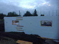 Insulated Concrete Forms (ICFs) Sales and installs