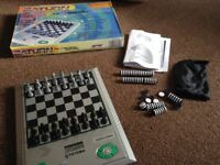 Electronic Chess/Draughts Set
