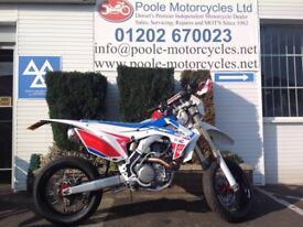 Honda CRF 450 R-G only 81 miles