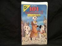 101 DALMATIANS 2 PATCH'S LONDON ADVENTURE BY DISNEY(SEALED) VHS