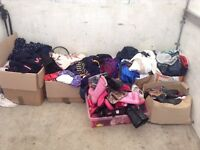Carboot Joblot of clothes and shoes