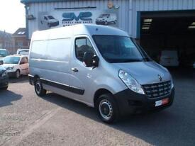 2011 RENAULT MASTER MM35 DCI MWB SEMI / MED ROOF 6 SPEED WITH AIR CON 60K MILES