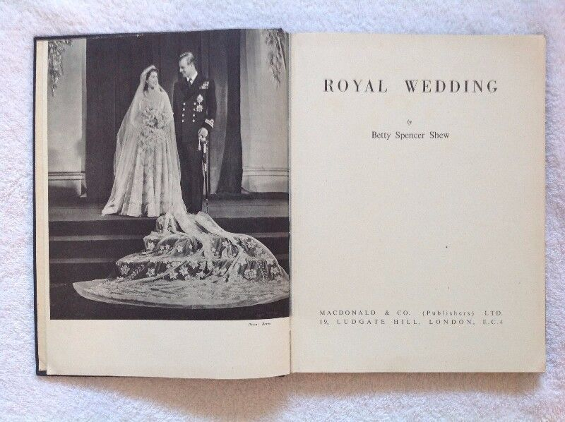 Royal Wedding - Betty Spencer Shew - First Edition 1947