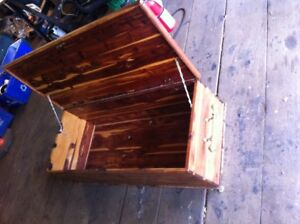 cedar storage chest for your tools, toys, pantry , truck ,pirate