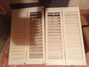 WINDOW COVERINGS WHITE WOOD SHUTTERS