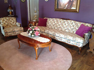 Lovely French Provincial Sofa and Chair