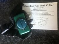Guardian Anti-Bark Collar for med to large sized dogs