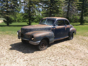1946 NASH COUPE. project or rat rod.