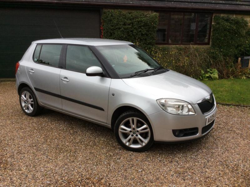 2009 skoda fabia 1 4 16v 85bhp 3 5 door petrol in. Black Bedroom Furniture Sets. Home Design Ideas
