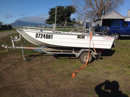 Stacer 3.7m dingy Cressy Northern Midlands Preview