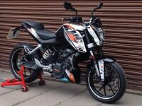 KTM Duke 125 Only 2193 miles. Delivery Available *Credit & Debit Cards Accepted*