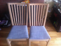 6 Like new chairs for sale