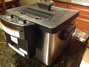 Hamilton Beach Stainless Steel Deep Fryer